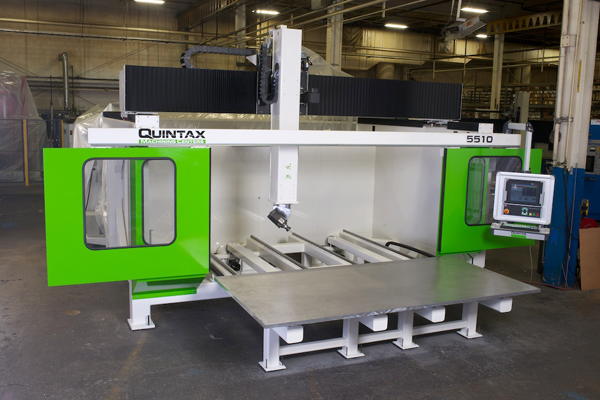 Quintax E5510 Single Table 5-axis CNC Router