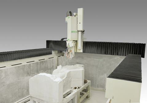 Quintax G5 Gantry Stone Cutting Machine