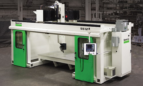 Quintax E5512 enclosed 5-axis CNC Router