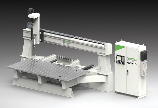 Quintax 3-axis CNC Routers