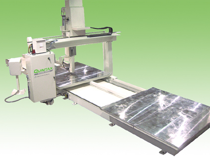 Quintax Inline Double Table CNC Router